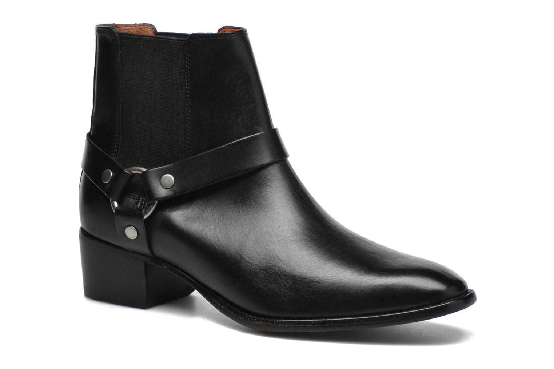 Bottines et boots Frye Dara Harness Chelsea Noir vue détail/paire