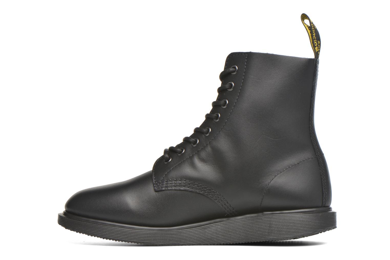Stiefeletten & Boots Dr. Martens Whiton schwarz ansicht von vorne