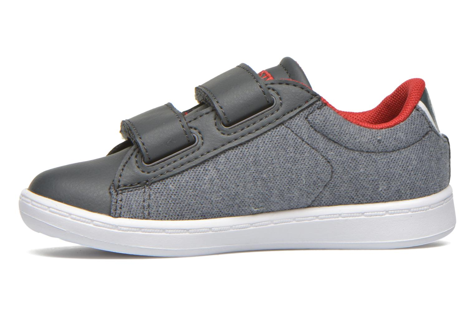 Baskets Lacoste Carnaby Evo 316 3 SPI Gris vue face