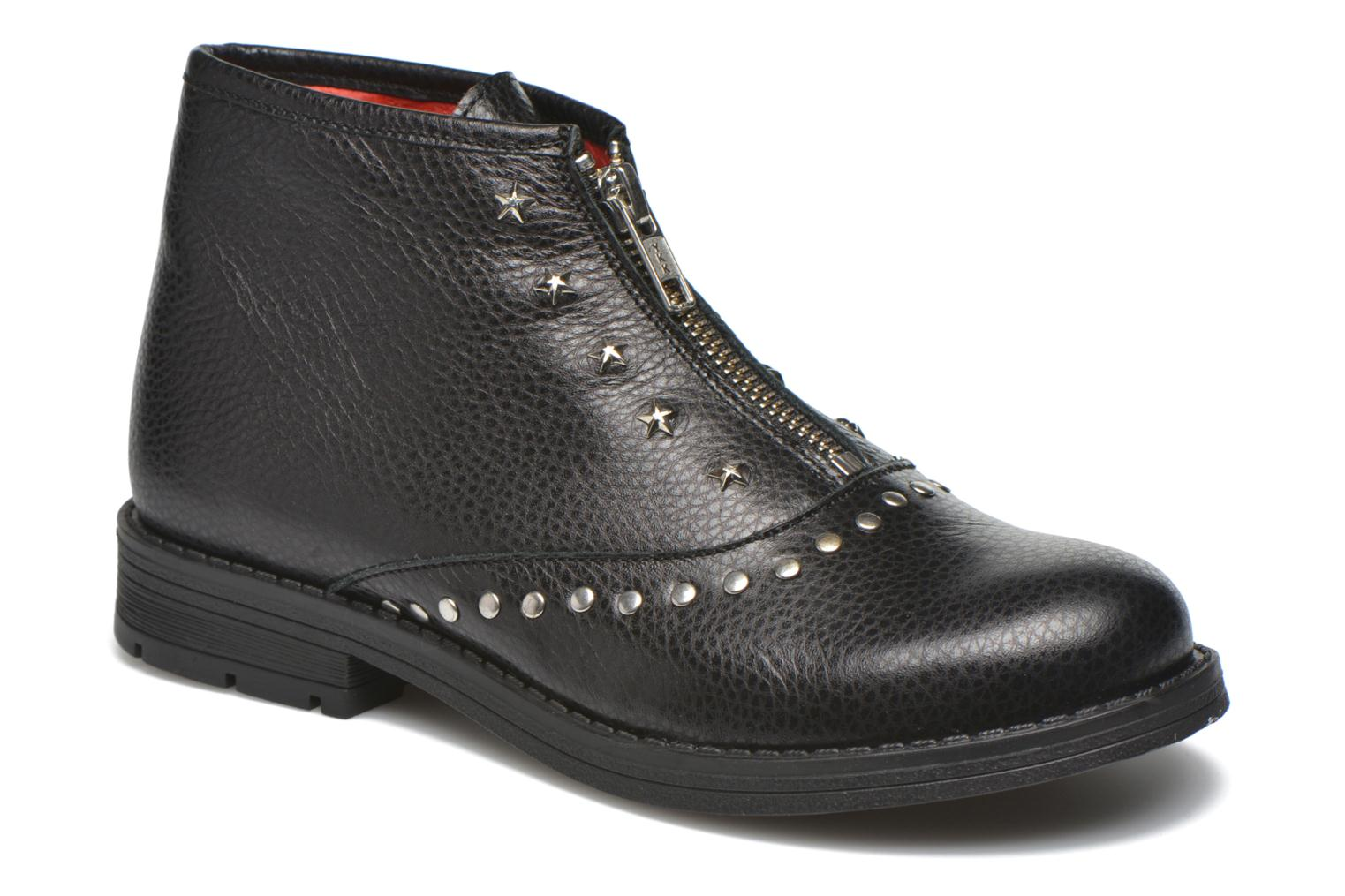 Ankle boots Yep Jasmin Black detailed view/ Pair view