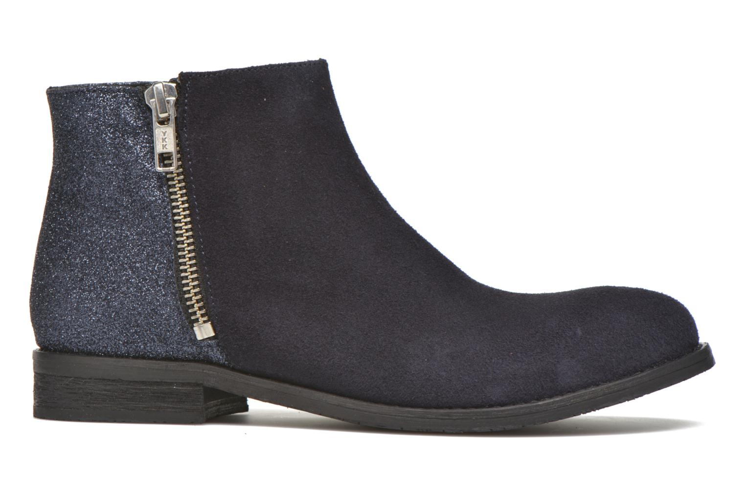 Ankle boots Yep Fabiola Blue back view