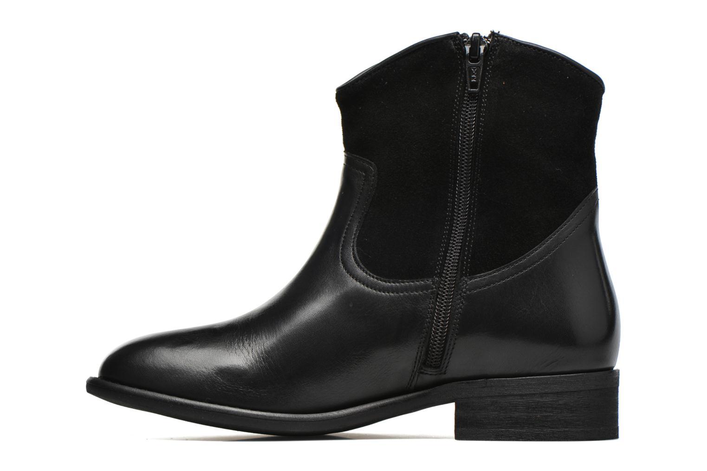 Bottines et boots Yep Farah Noir vue face