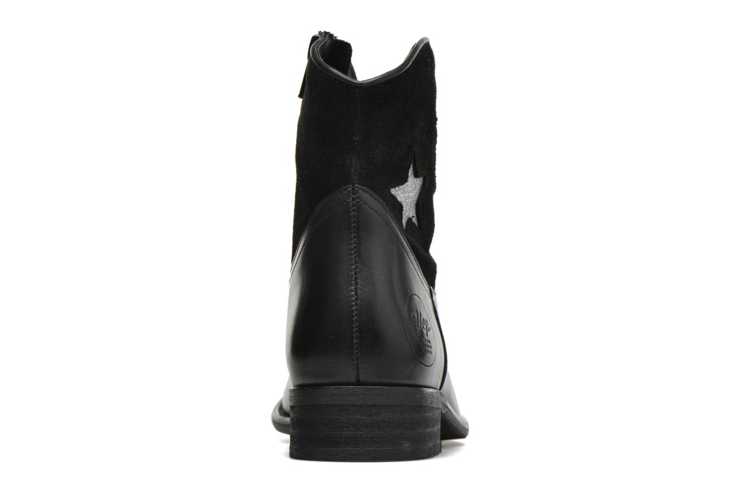 Ankle boots Yep Farah Black view from the right