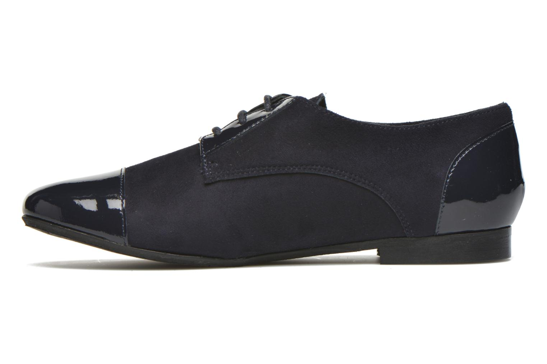 Chaussures à lacets Yep Florinda Bleu vue face