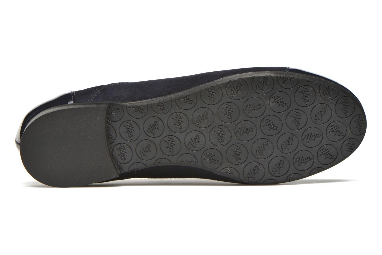 Chaussures à lacets Yep Florinda Bleu vue haut