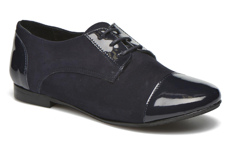 Chaussures à lacets Yep Florinda Bleu vue détail/paire