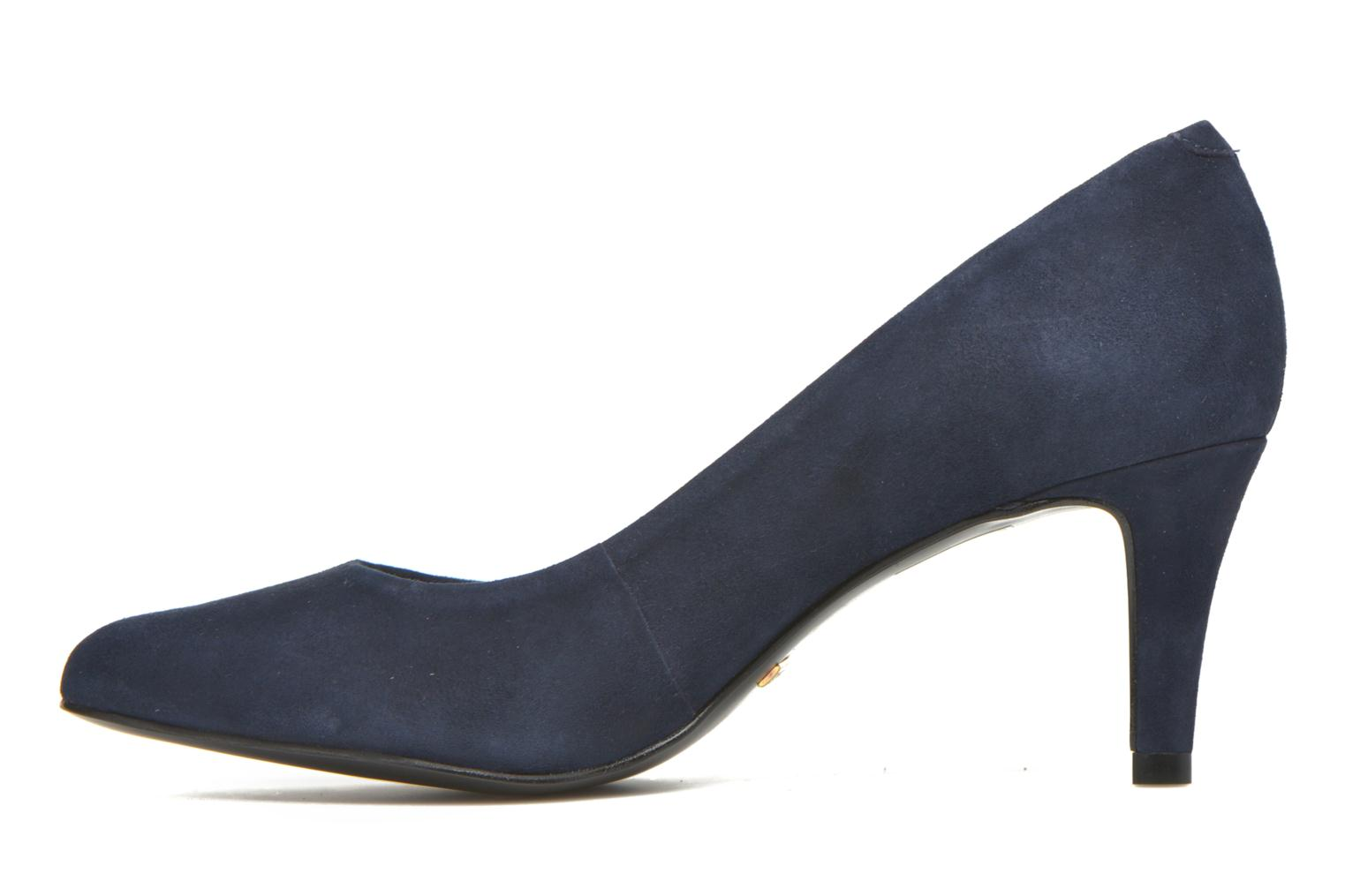 High heels Minelli Volle Blue front view