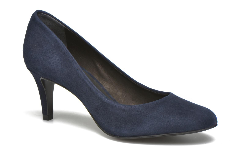 Escarpins Minelli Volle Bleu vue détail/paire