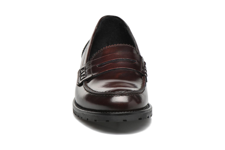 Mocassins Minelli Lobe Bordeaux vue portées chaussures
