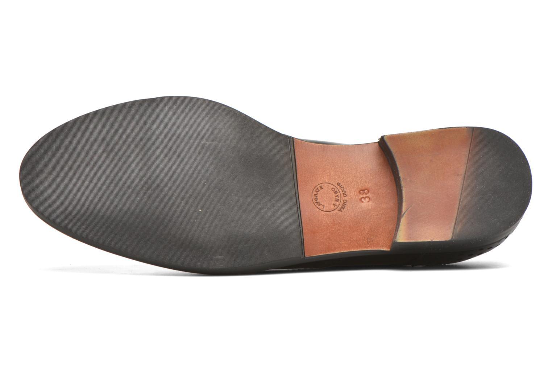 Scarpe con lacci Minelli Elmé Nero immagine dall'alto