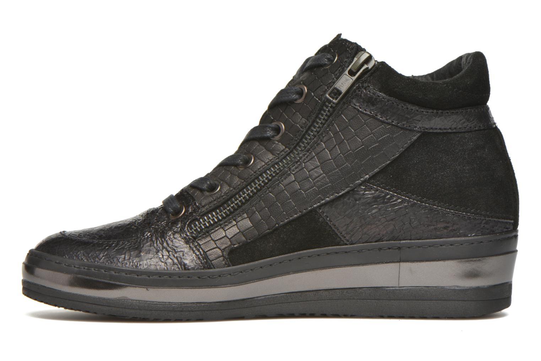 Sneaker Khrio Bromono schwarz ansicht von vorne