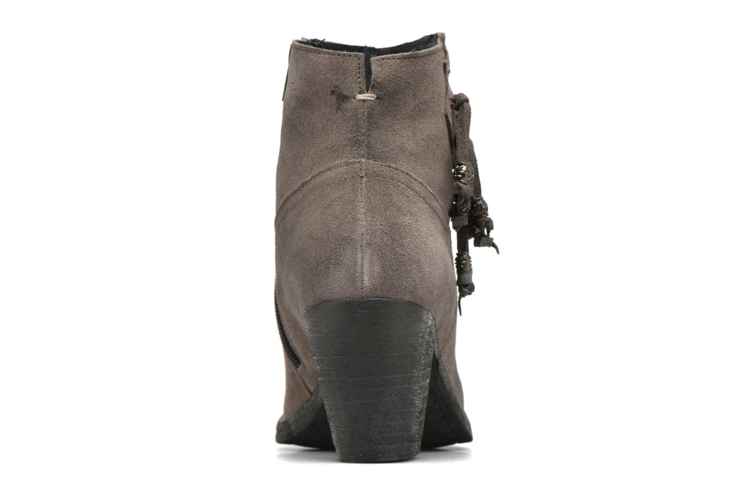 Ankle boots Khrio Bijou Grey view from the right
