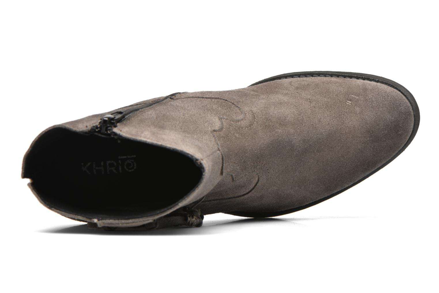 Ankle boots Khrio Bijou Grey view from the left