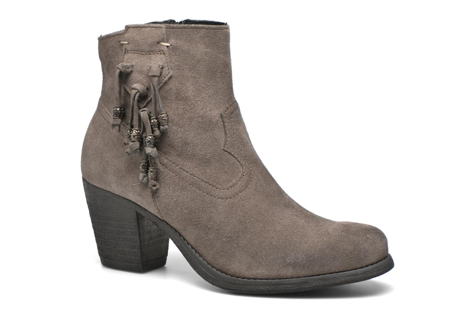 Ankle boots Khrio Bijou Grey detailed view/ Pair view