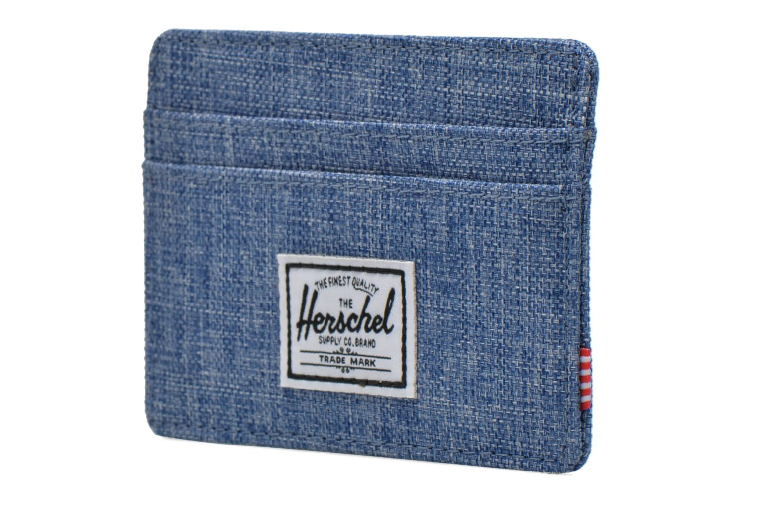 Wallets & cases Herschel CHARLIE Porte-cartes Blue model view