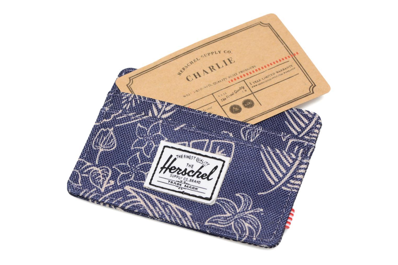 Wallets & cases Herschel CHARLIE Porte-cartes Blue back view