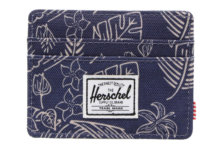 Petite Maroquinerie Herschel CHARLIE Porte-cartes Bleu vue détail/paire