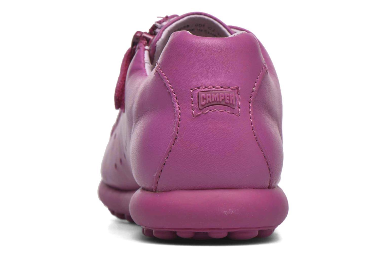 Sneaker Camper New Pelotas rosa ansicht von hinten
