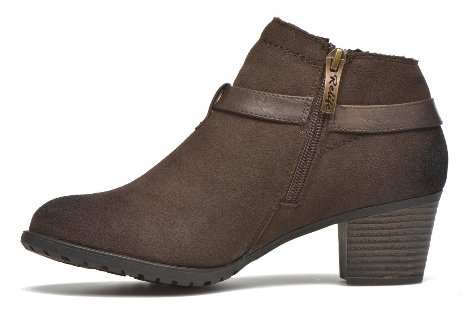 Ankle boots Hush Puppies MARIA Brown front view
