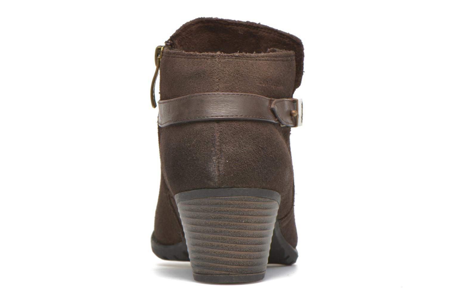 Ankle boots Hush Puppies MARIA Brown view from the right