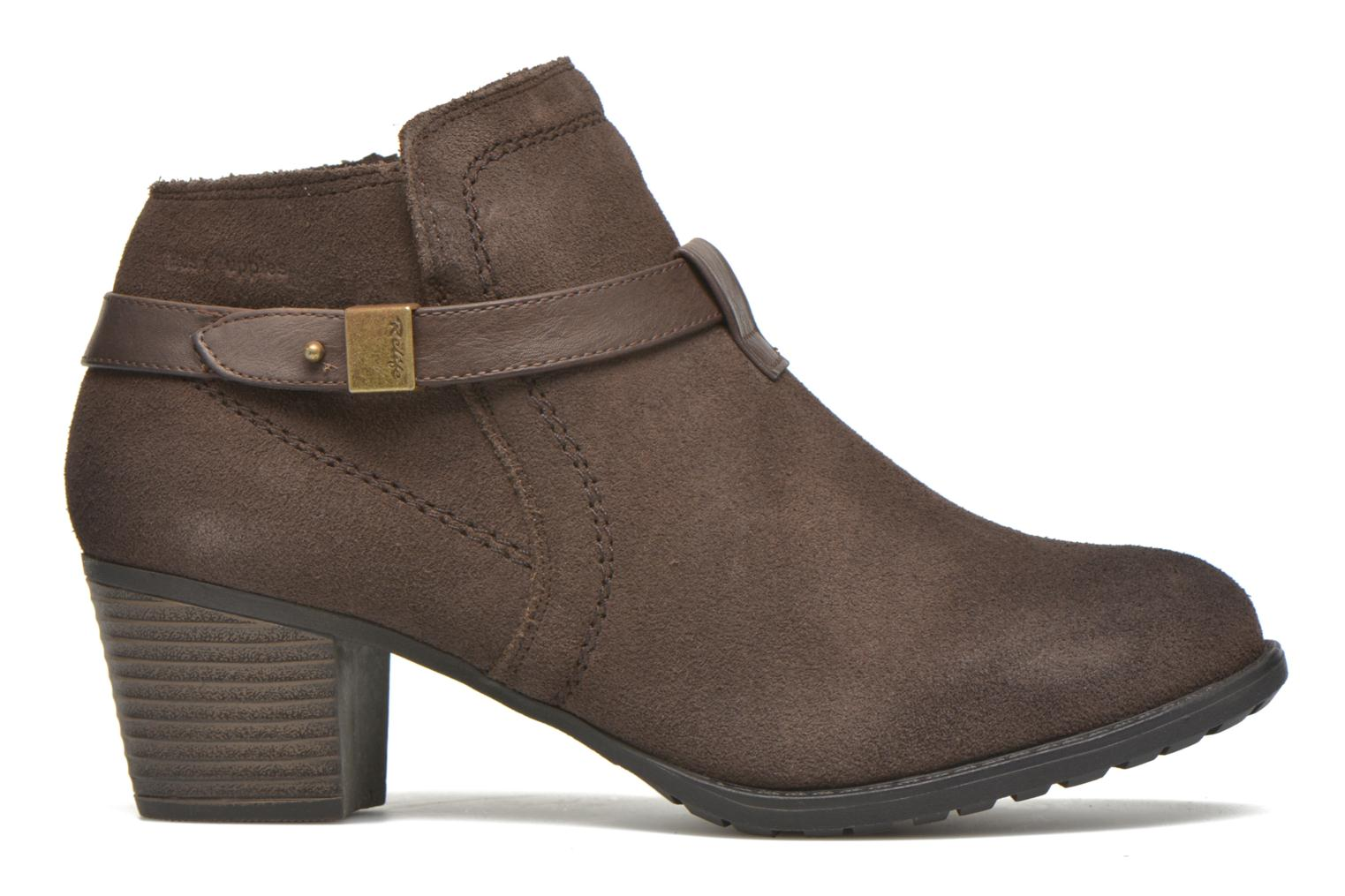 Ankle boots Hush Puppies MARIA Brown back view