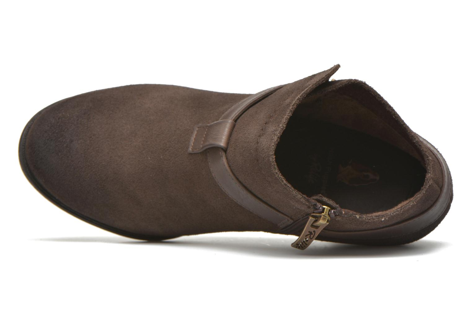 Ankle boots Hush Puppies MARIA Brown view from the left