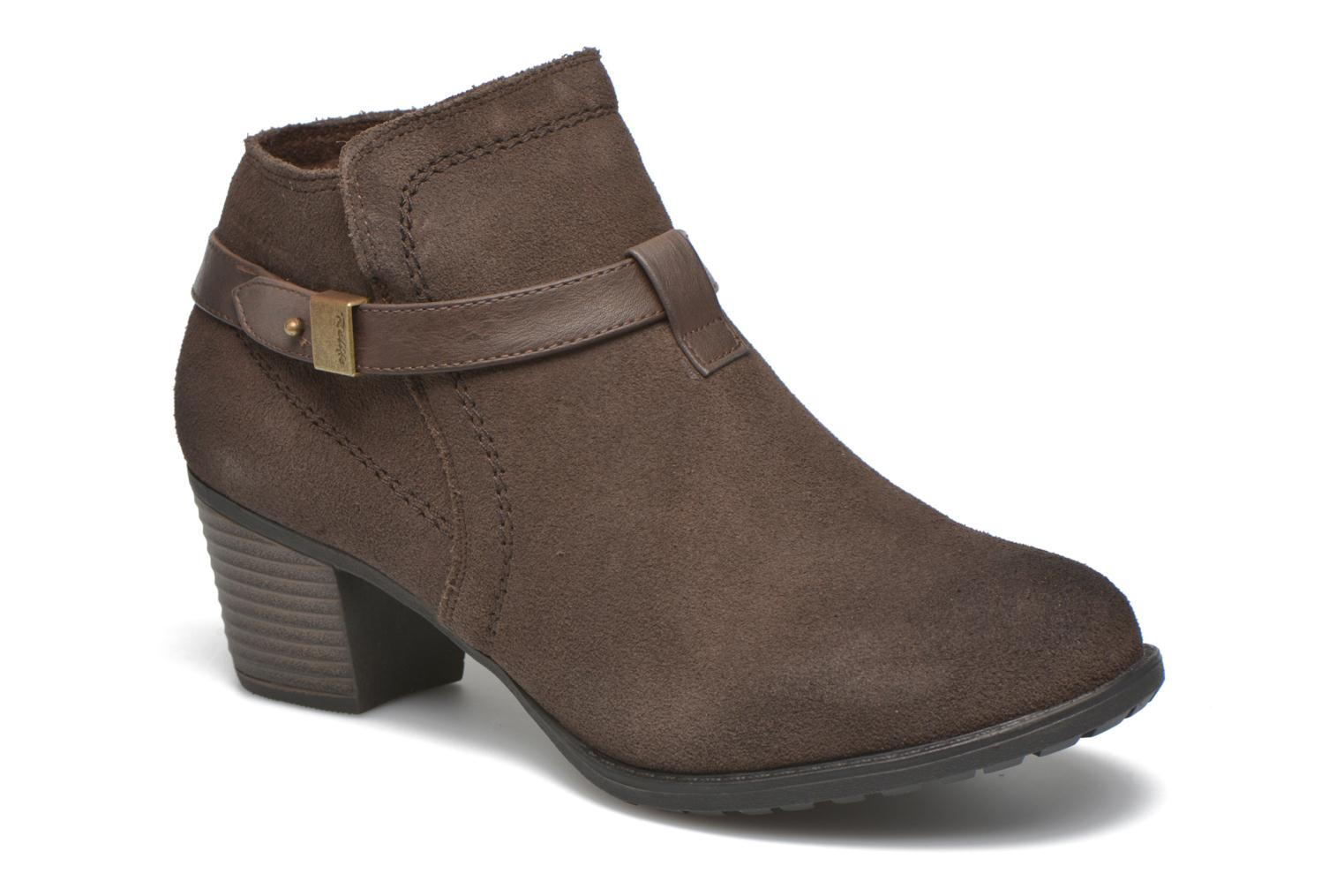Ankle boots Hush Puppies MARIA Brown detailed view/ Pair view