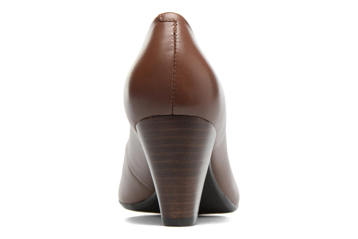 Escarpins Hush Puppies ALEGRIA Marron vue droite