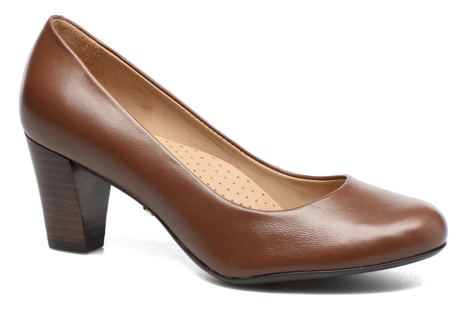 Escarpins Hush Puppies ALEGRIA Marron vue détail/paire