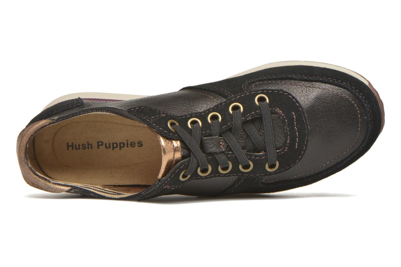 Baskets Hush Puppies Chazy Dayo Noir vue gauche