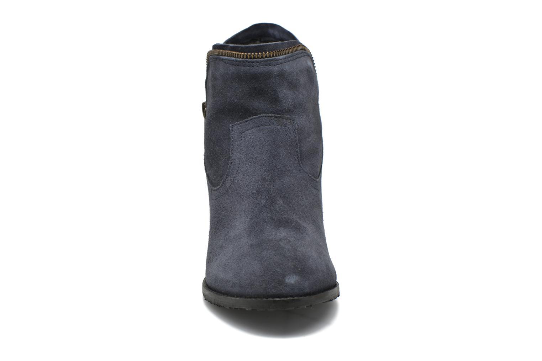 Bottines et boots Hush Puppies KENT Bleu vue portées chaussures