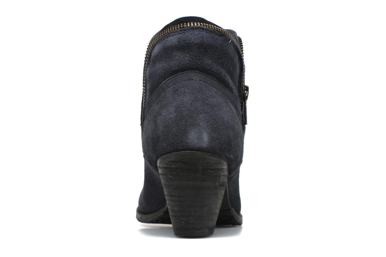 Bottines et boots Hush Puppies KENT Bleu vue droite