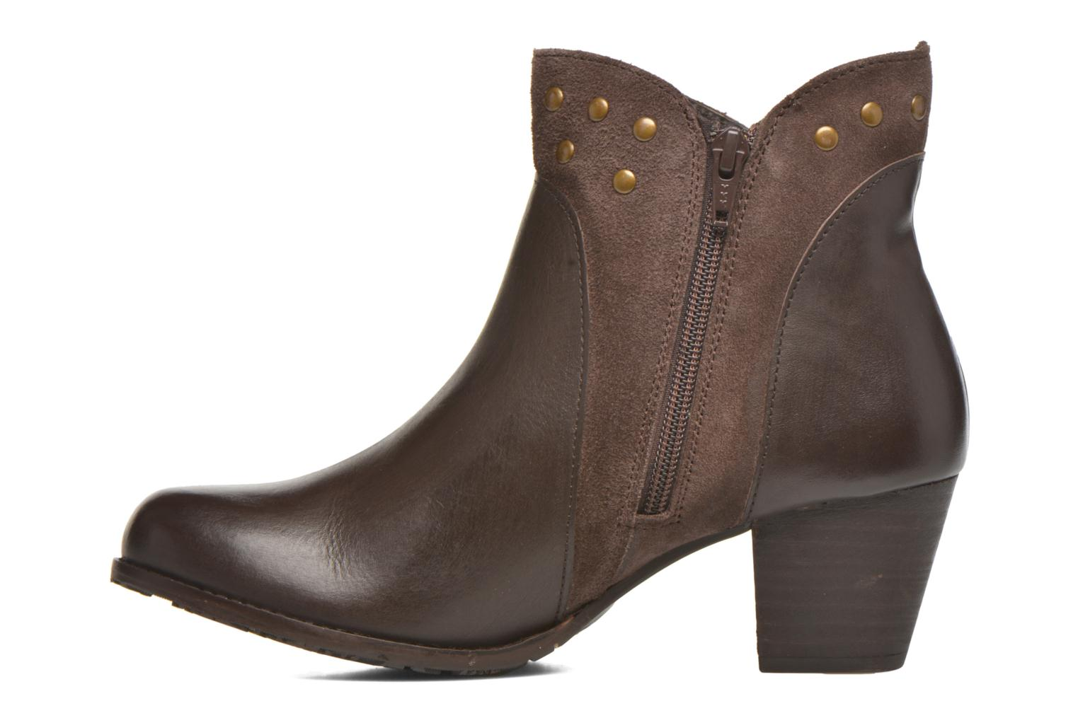 Ankle boots Hush Puppies KRIS Brown front view