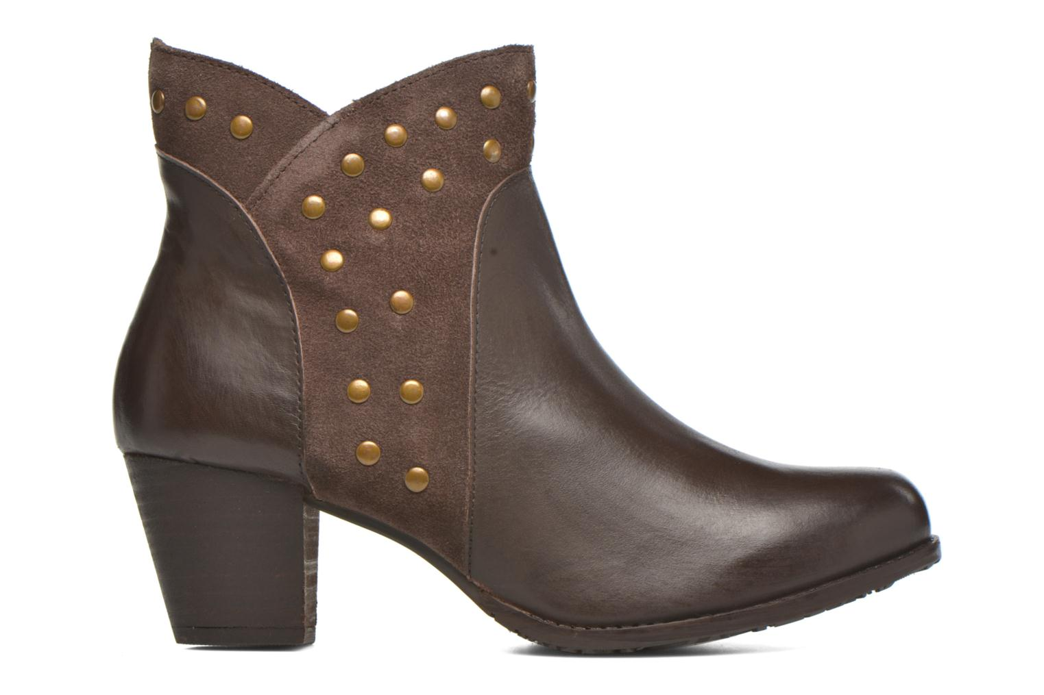 Ankle boots Hush Puppies KRIS Brown back view