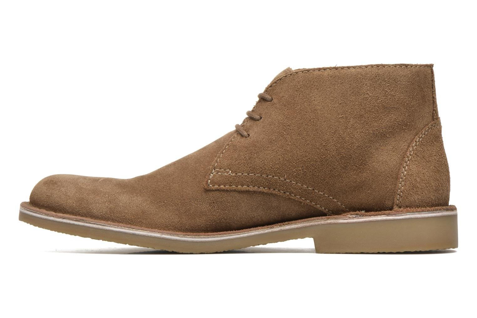 Chaussures à lacets Hush Puppies Lord Marron vue face