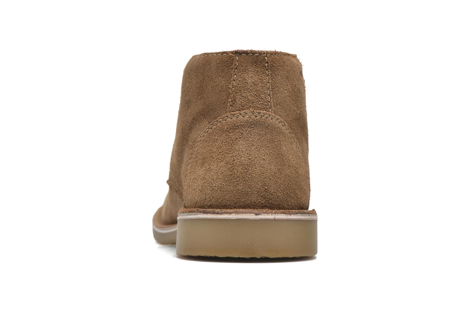 Lace-up shoes Hush Puppies Lord Brown view from the right