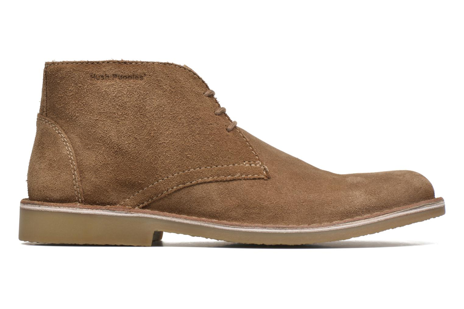 Lace-up shoes Hush Puppies Lord Brown back view