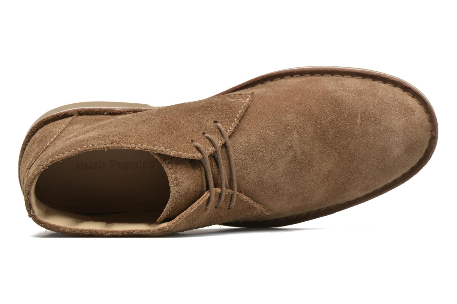 Lace-up shoes Hush Puppies Lord Brown view from the left