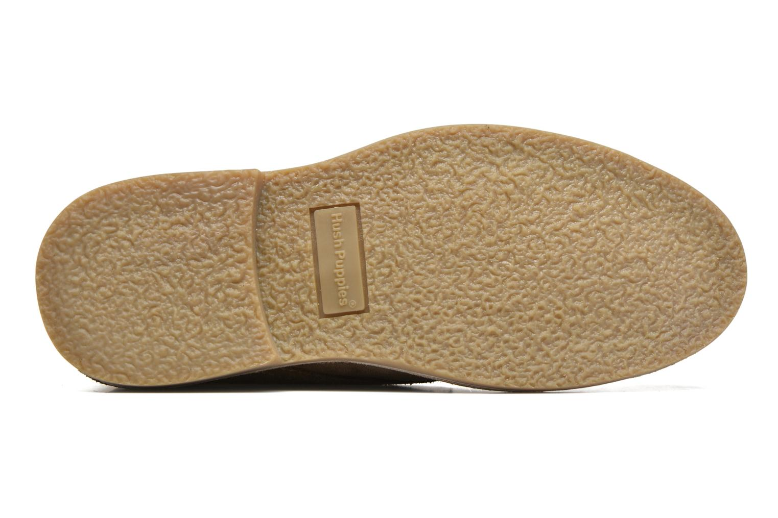 Lace-up shoes Hush Puppies Lord Brown view from above