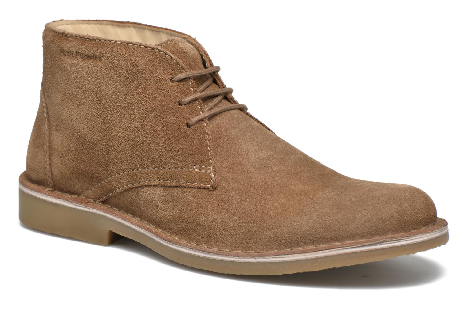 Lace-up shoes Hush Puppies Lord Brown detailed view/ Pair view