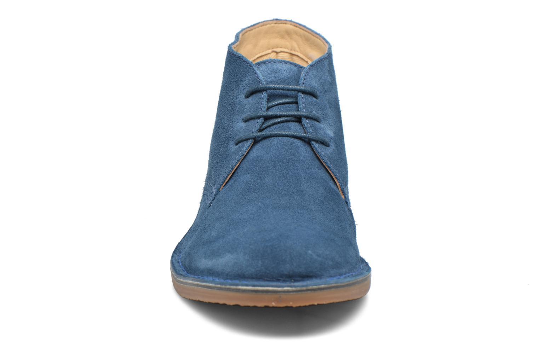 Chaussures à lacets Hush Puppies Lord Bleu vue portées chaussures
