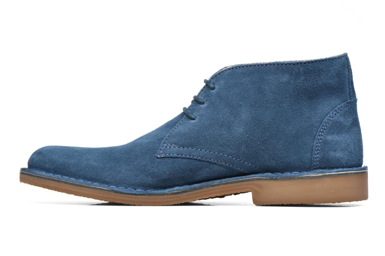 Chaussures à lacets Hush Puppies Lord Bleu vue face