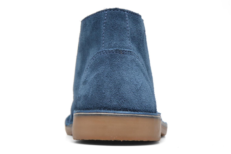 Chaussures à lacets Hush Puppies Lord Bleu vue droite