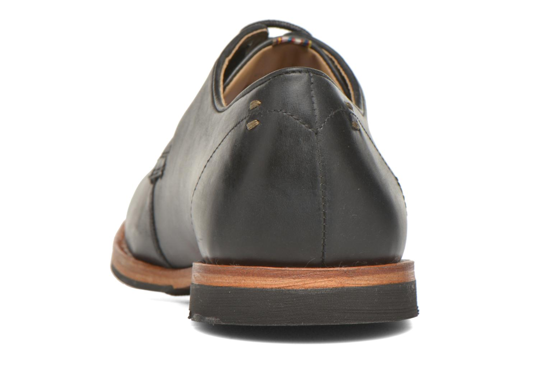 Zapatos con cordones Hush Puppies Kurtis Negro vista lateral derecha