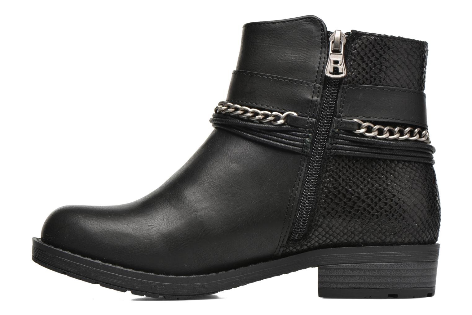 Bottines et boots Refresh Doune 62129 Noir vue face