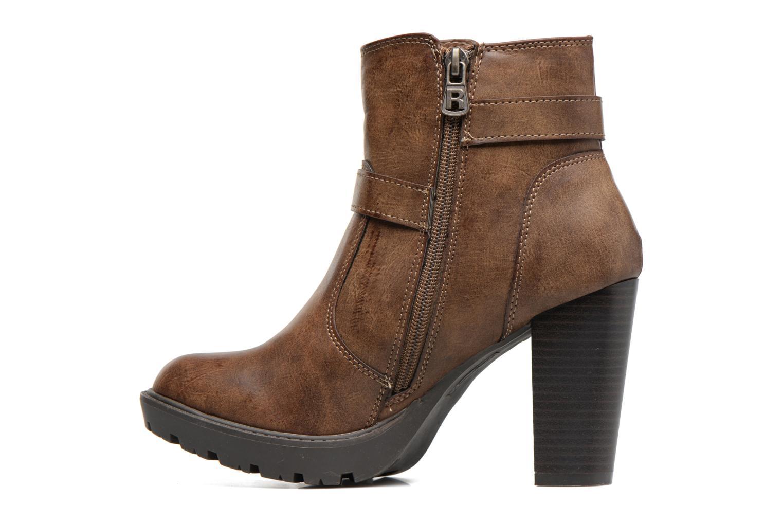 Bottines et boots Refresh Fanny 62140 Marron vue face