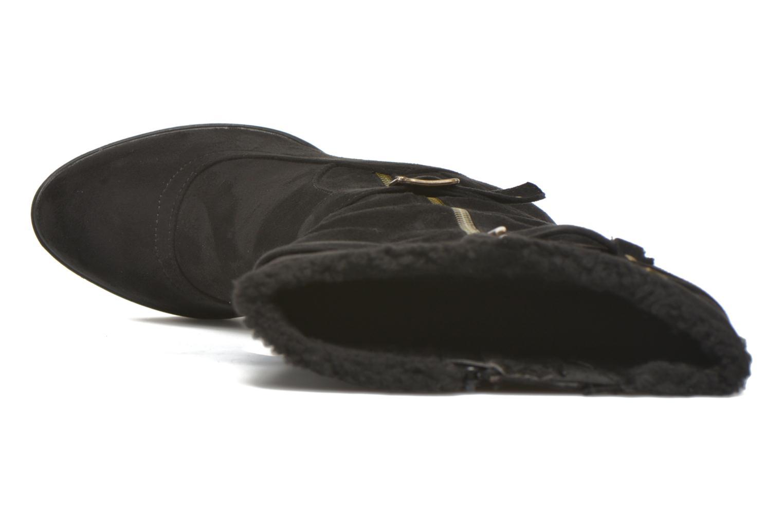 Stiefel Refresh Lory 63097 schwarz ansicht von links