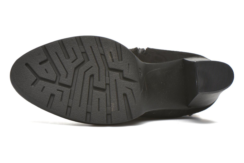 Stiefel Refresh Lory 63097 schwarz ansicht von oben