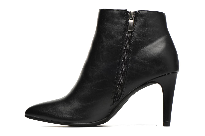 Boots en enkellaarsjes Divine Factory Sandra Zwart voorkant
