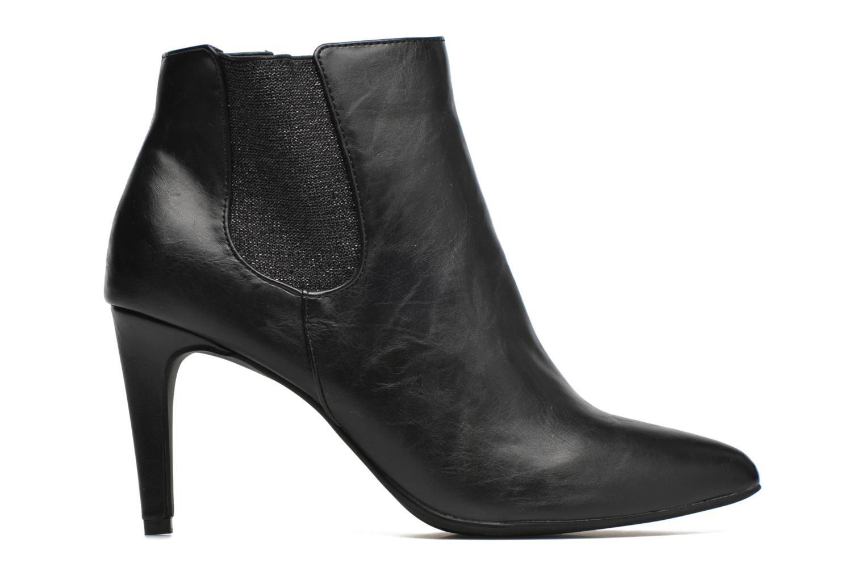 Boots en enkellaarsjes Divine Factory Sandra Zwart achterkant
